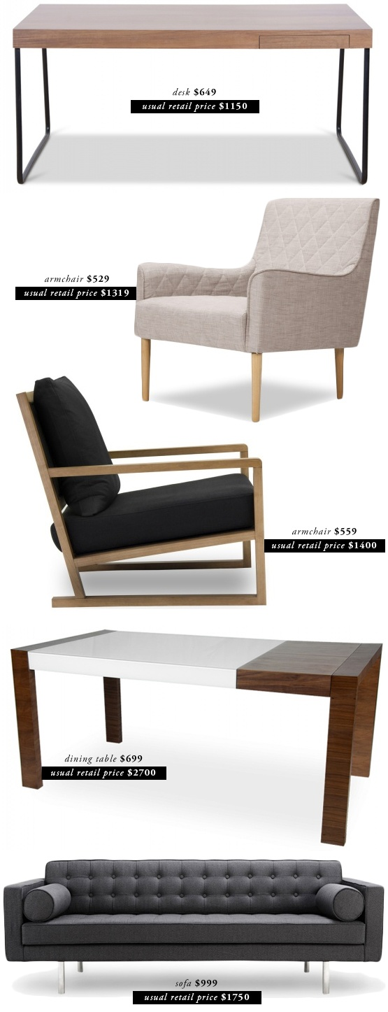 34 best images about furniture on pinterest furniture for Modern furniture for less