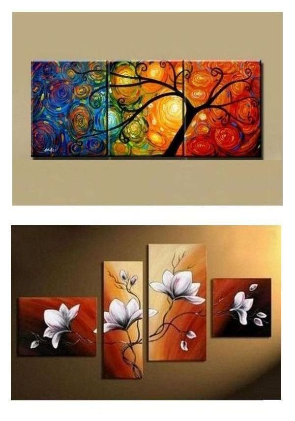 3 Home Decor Trends For Spring Brittany Stager: Canvas Painting, Abstract Art Painting, 3 Piece Canvas Art