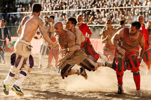 You think rugby is tough? Meet the real football.
