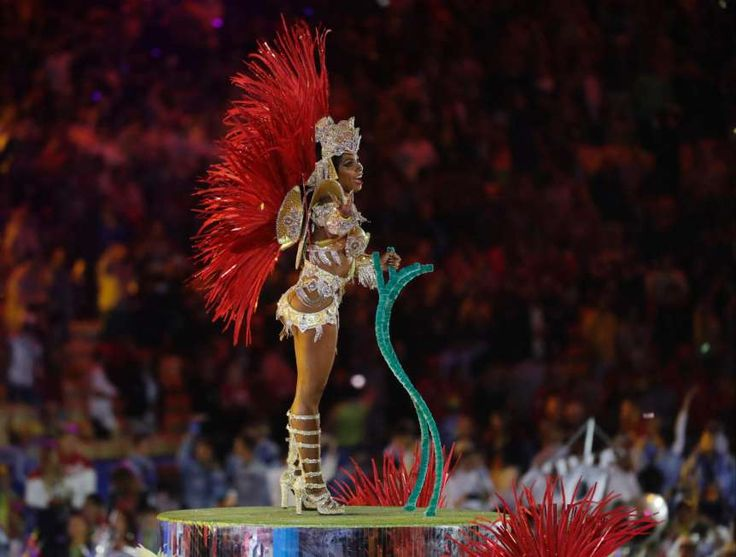 Olympia 2016 in Rio Schlussfeier 21-Aug