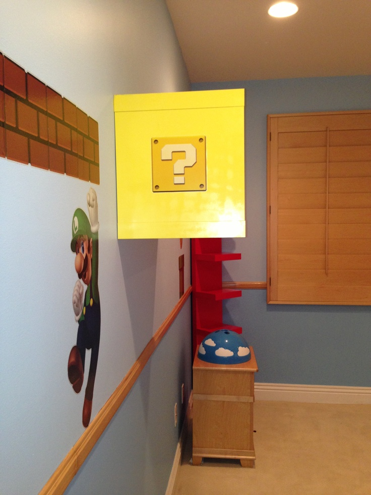 Super mario bros room decor. 22 best Mario bros room images on Pinterest