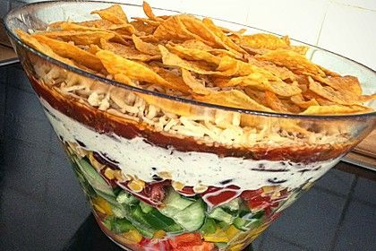 Taco - Salat, ein raffiniertes Rezept aus der Kategorie Raffiniert & preiswert. Bewertungen: 133. Durchschnitt: Ø 4,7.