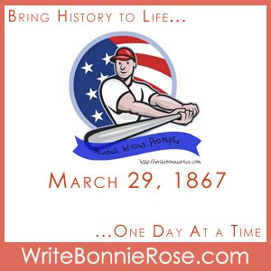 Timeline Worksheet: March 29, 1867, Cy Young's Birthday and Baseball Writing Prompts - WriteBonnieRose.com