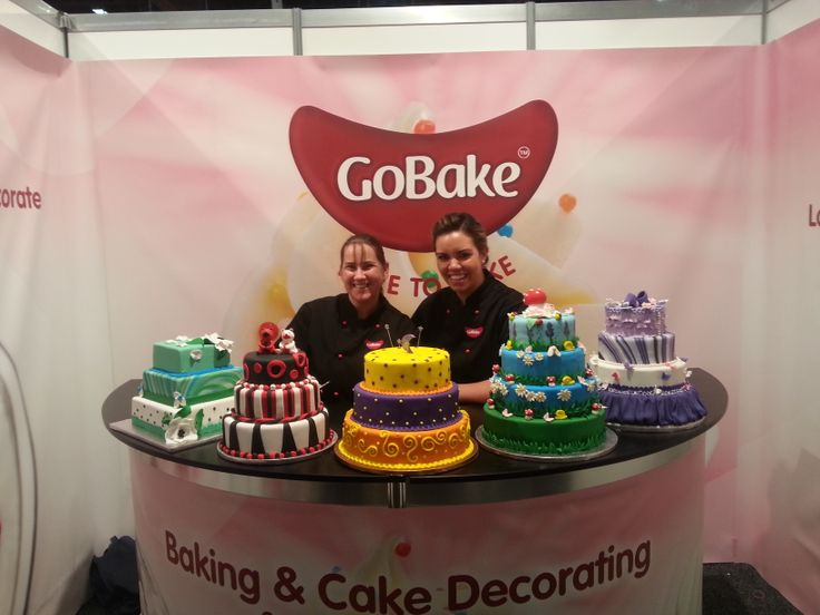 Lots of cakes made for the Fine Foods Show