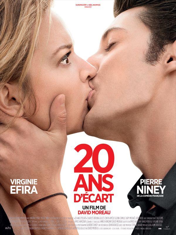 20 ans d'écart est un film de David Moreau (II) avec Virginie Efira, Pierre Niney. Synopsis : Alice Lantins a 38 ans. Elle est belle, ambitieuse et fait preuve d'une impeccable conscience professionnelle au point d'en oublier sa vie privée. Bre