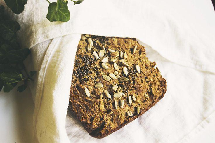 Gluten free bread with buckwehat, rice flour & banana