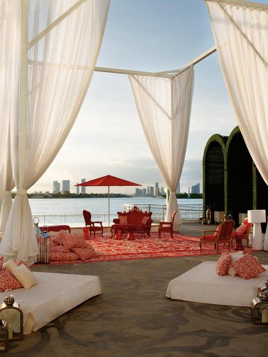 Mondrian Hotel Miami Beach:  Elegant and luxurious.