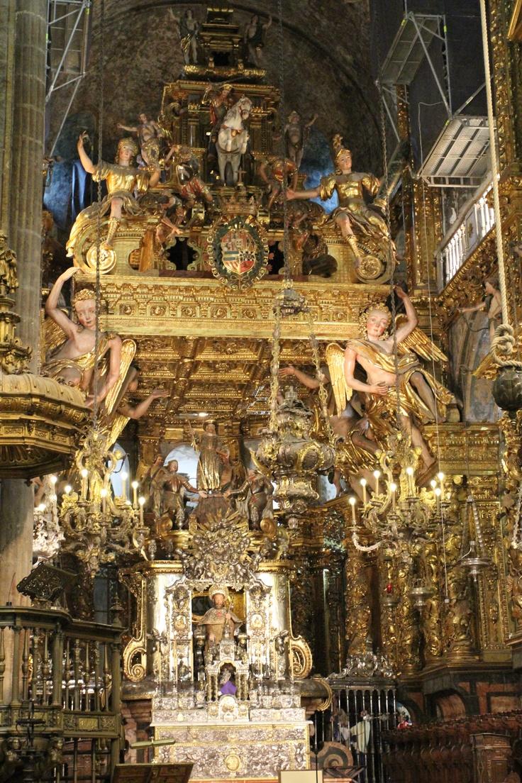 Santiago da Compostela - Main Altar - If I were a pilgrim... Soon on a Museum Planet iPad tour.