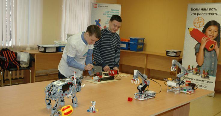Робототехника - Добро пожаловать на LEGO Education