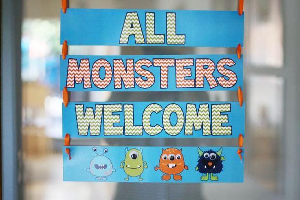 Monster party for the little monster!
