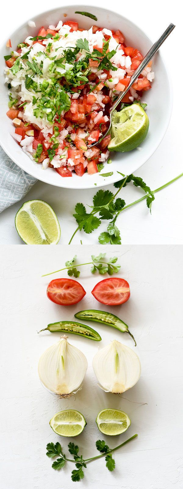 There's nothing like fresh salsa and chips to get the party started | foodiecrush.com