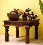 Jaipur Lamp Table - Indian Solid Sheesham Wood Furniture | Saraf Furniture