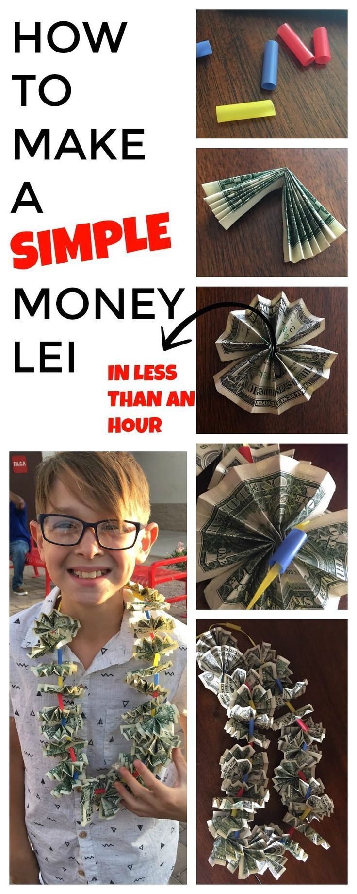 How Many Dollars To Make A Money Lei