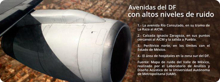 Exhorta especialista a tomar medidas contra la contaminación sonora en las metrópolis mexicanas