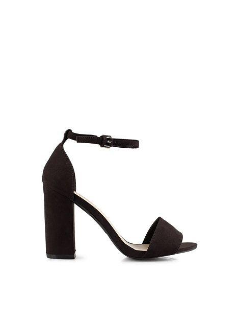 Block Heel Sandal - Nly Shoes - Svart - Festskor - Skor - Kvinna - Nelly.com