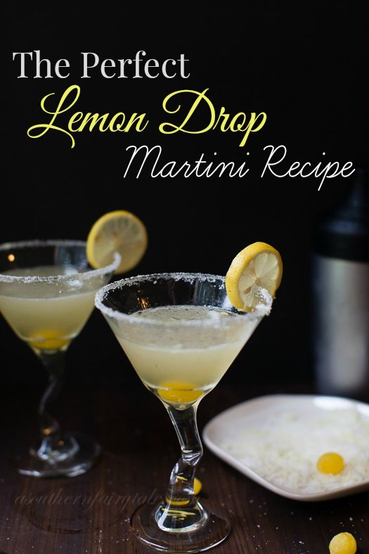 The Perfect Lemon Drop Martini Recipe