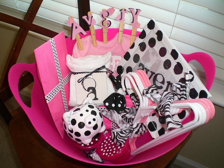 Baby Shower - Gift Basket (For Little Miss Avery!)