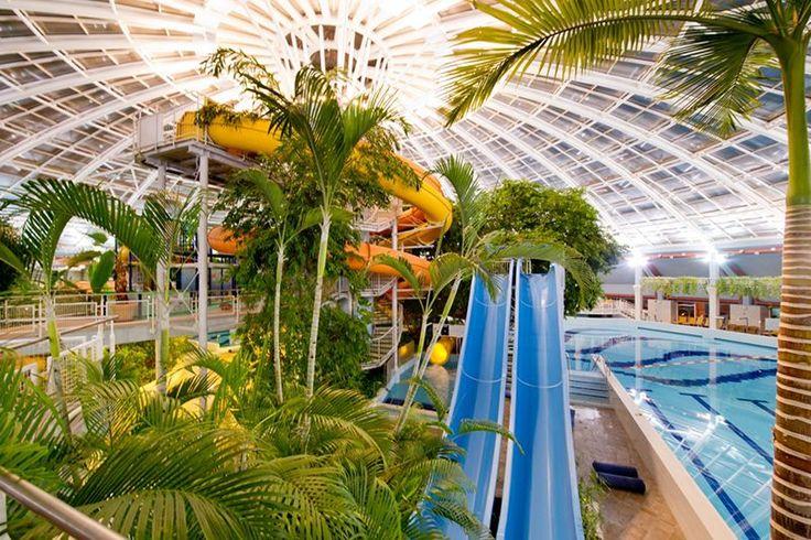 A debreceni Nagyerdő szívében található, 2014-ben megújult fürdőközpont valamennyi generáció számára komplex szolgáltatást kínál.
