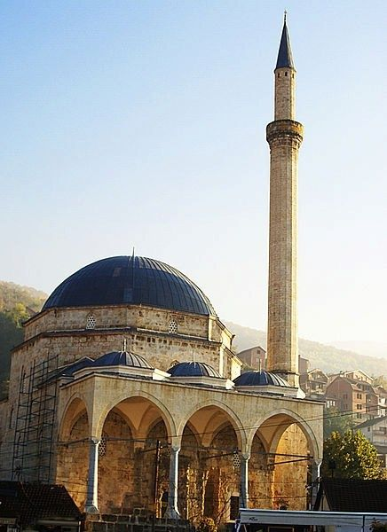 The Sinan Pasha Masjid is an Ottoman mosque in the city of Prizren, Kosovo. It was built in 1615 by Sofi Sinan Pasha, bey of Budim.