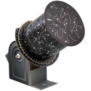 Planetarium Observe the stars in your room! - A pin hole planetarium kit - Rotate the planetarium to see how the constellations change with time and season. - Adjust the projection angle to see how constellations are viewed from different longitudes on Earth. http://www.artec-educational.com/planetarium/