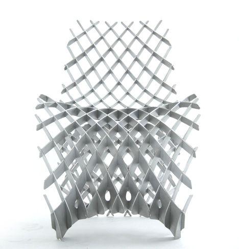 Joris Laarman Lab 3D printed aluminium chair