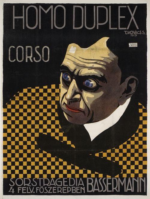 Homo Duplex, Hungary 1917 | poster art | Pinterest ...