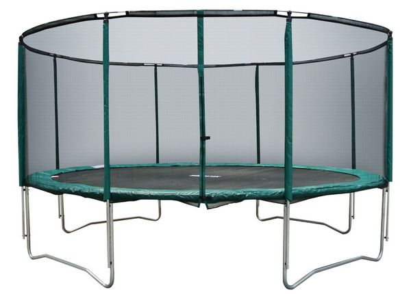 Cortez Premier 12ft Trampoline: With Enclosure and Ladder!