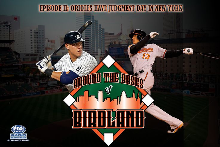 Judgment Day The Baltimore Orioles went to New York and were faced with Judgment Day as the New York Yankees phenom, Aaron Judge went deep three times over the weekend as the Yankees took two of three from the Birds. Brian H.   #Baltimore Orioles #baseball #Major League Baseball #Orioles
