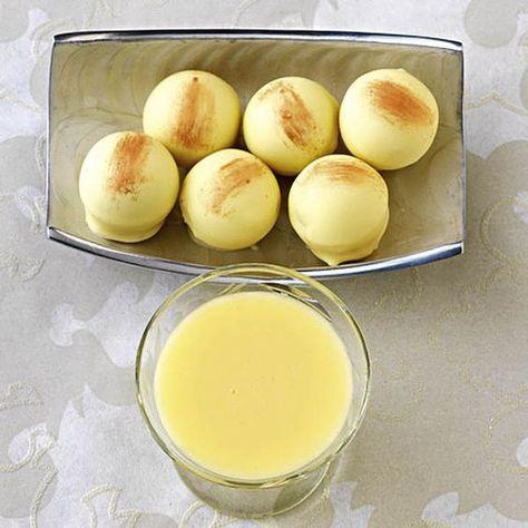 Eindeutig Omas Liebling - und somit wäre der nächste Besuch gerettet: einfach eine Portion Eierlikörtrüffel zubereiten, hübsch verpacken und als Gesch...