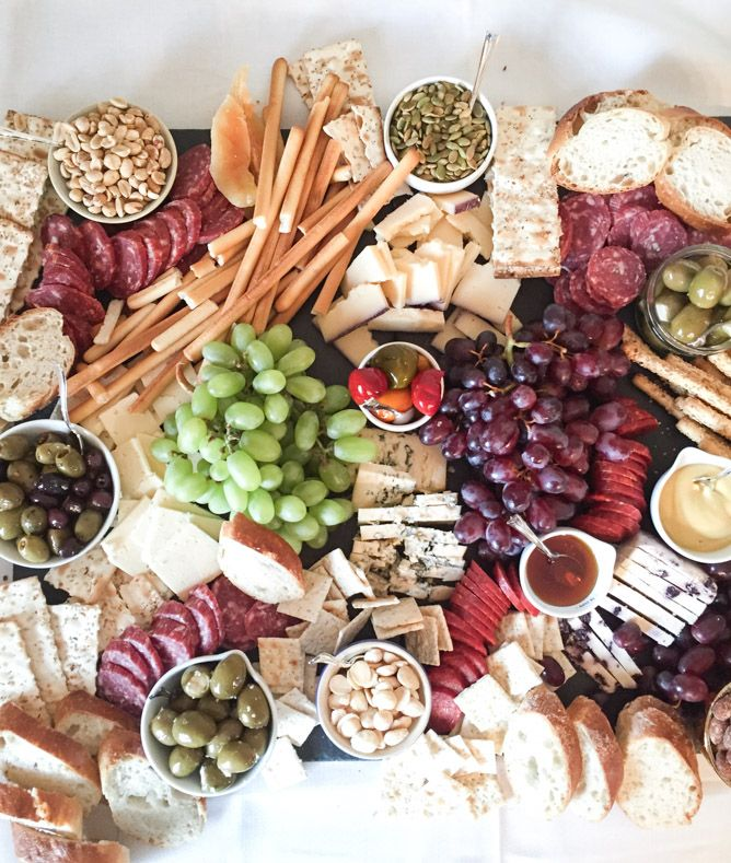 OMG!  This cheese platter is amazing.  |  on life lately I howsweeteats.com