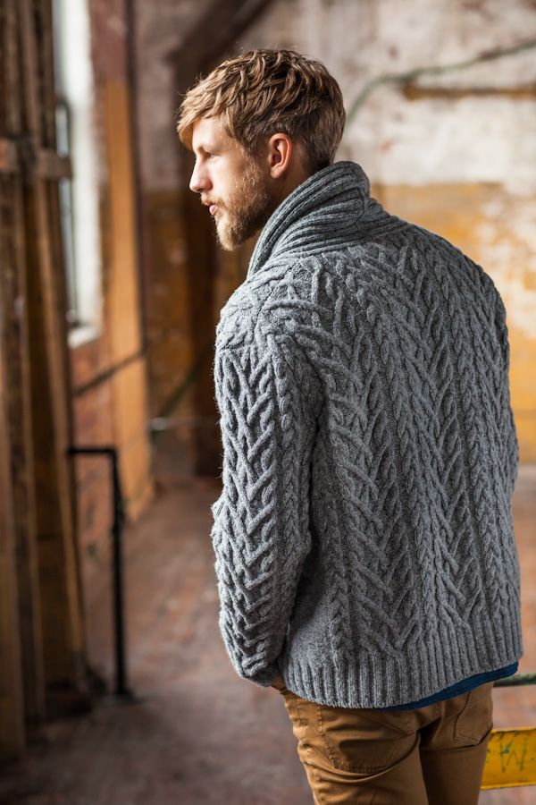 Timberline cabled cardigan