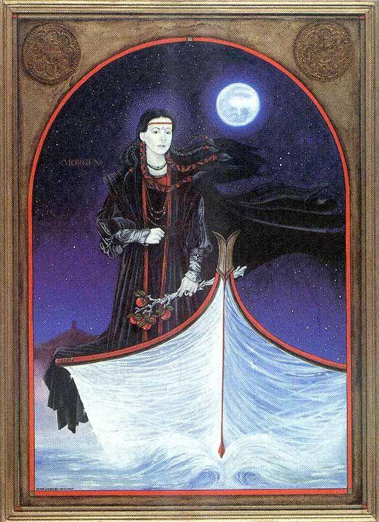 Morgan Le Fay by Stuart Littlejohn