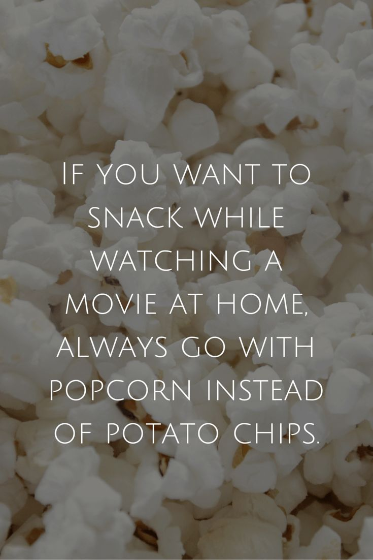 Healthy Eating Tip for Busy People 3 of 10 - Snack on popcorn instead of chips