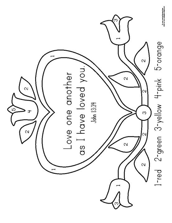 sunday school coloring pages printable - photo#18