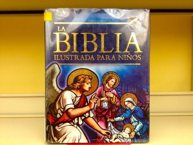 10 libros en español para leer en familia: La Biblia Ilustrada para niños, contada por Trevor Barnes