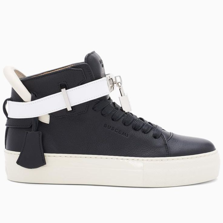 Buscemi Women's 100MM Black Tricolor Sneakers   #buscemi #sneakers #fashion #blackfriday #blackfridaygifts #gifts #men #shopping #thanksgiving #love