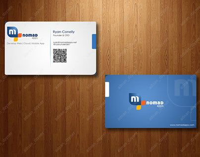 44 best business card design images on pinterest business cards check out new work on my behance portfolio nomad apps business card design colourmoves