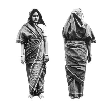Earlier, this article erroneously mentioned that the Kerala tribal style of sari was worn by the Nair community all over Kerala. This has now been corrected to the tribal community from North east Ker...