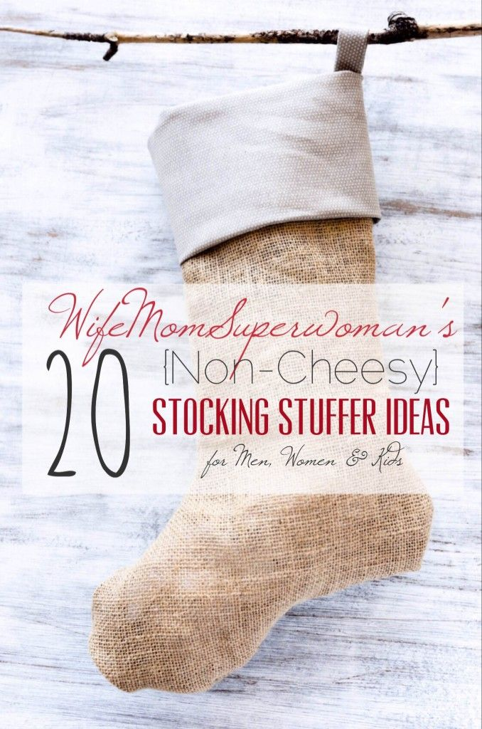 20 Non Cheesy Stocking Stuffer Ideas For Men Women