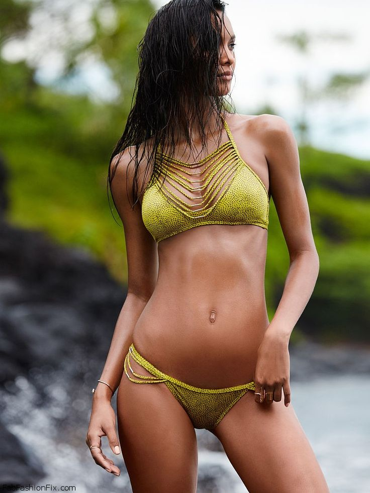 Lais Ribeiro for Victoria's Secret Swim 2015 Catalogue. #vsswim #laisribeiro: