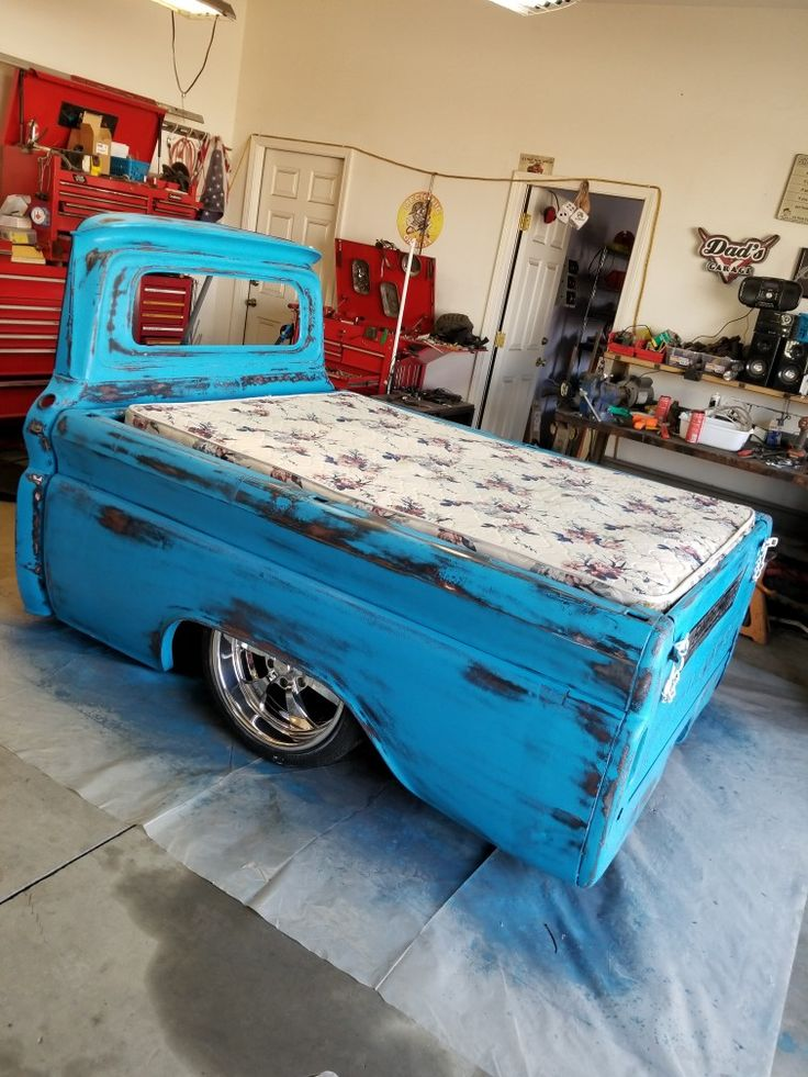 Chevy C10 shortened and sectioned to accommodate full size ...