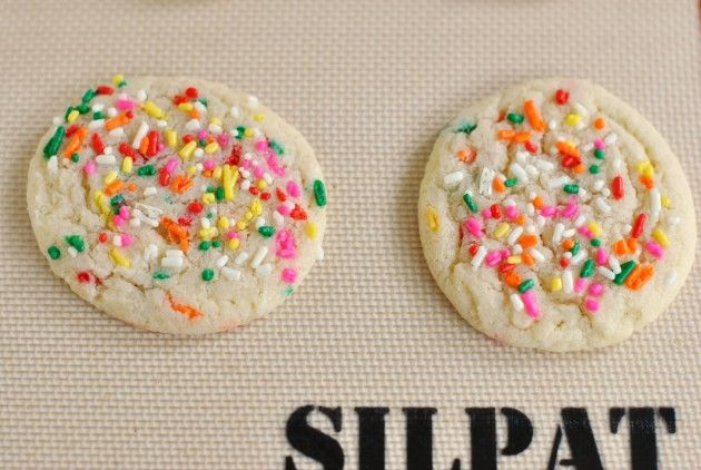 Funfetti Cookies: Sprinkled with Chewy Flavor #recipe