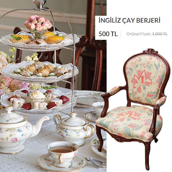 Evimizde İngiliz çay saati! English tea time, english tea party