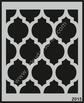 Mood Duvar Stencil Şablon 50X60cm Z015