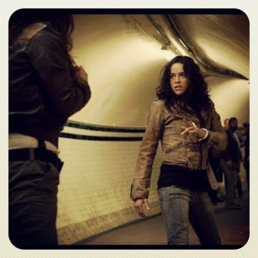 Michelle Rodriguez - The Girl Fight at Fast and Furious 6