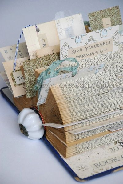 The White Bench: My Book of Grace altered book.