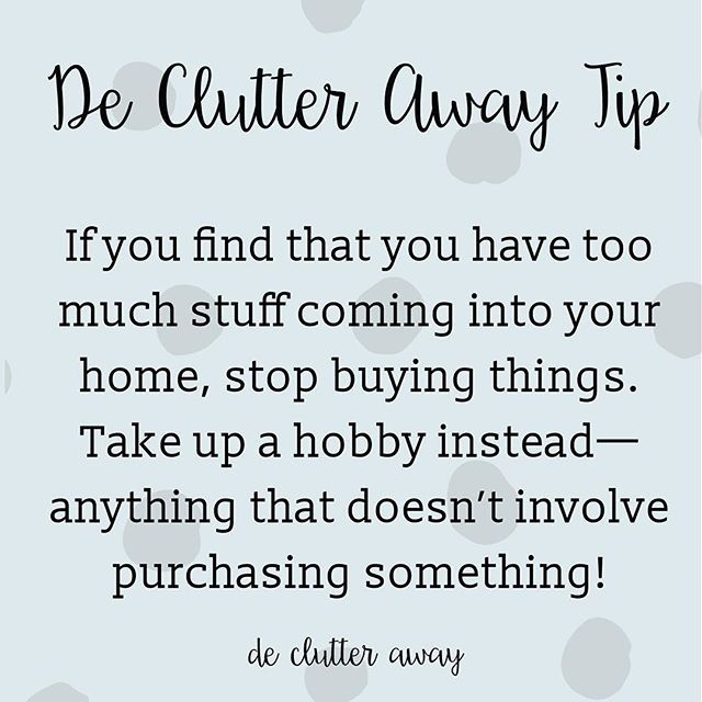 Easier said than done, but still worth trying if you find you're buying too much.  #recycle #recycling #recycler #declutter #decluttering #declutteringtips #declutteryourlife #professionalorganiser #professionalorganizer #organise #organize #organiser #organizer #smallbusiness #brisbane #brisbanesmallbusiness #bne #qld #qldhomes #brisbaneig #brisbanehomes #queensland #queenslander #tip #clean #movinghouse #environment #environmentallyfriendly