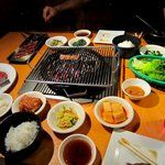 10 Korean BBQ spots:  Chicago Kalbi Belly Q Tozi Crisp En Hakkore San Soo Gab San (try!) Gosu Cho Sun Ok Song Do (try!)