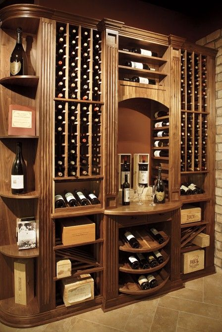 Charles River Wine Cellars | Custom Wine Cellars in Boston, MA | Boston Design Guide #LiquorList www.LiquorList.com @LiquorListcom
