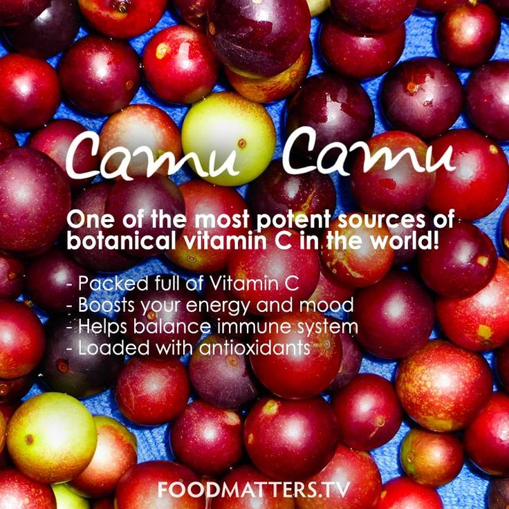 One of the most potent sources of botanical vitamin C in the world!